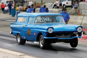 57 ford launching