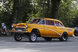 GASSER GET DOWN 55 CHEVY