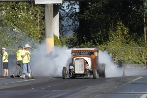 GASSER GET DOWN A COUPE BURNOUT