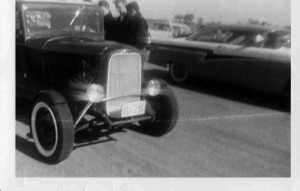vintage drags staging lanes deuce coupe 50s Ford
