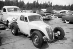VINTAGE DRAGS FIAT topolino