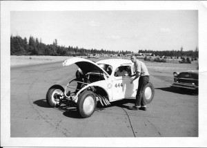VINTAGE DRAGS STEVE MCQUEEN DRAG VW