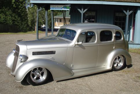 1936 chevy bustleback for 1936 chevy 4 door sedan